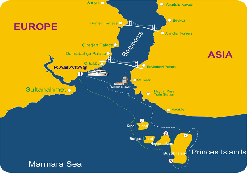 1 0 Bosphorus Map