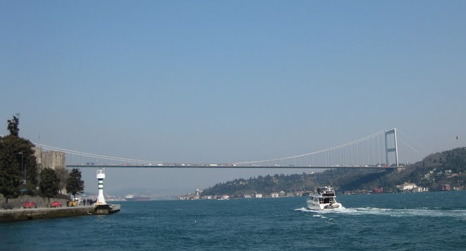 13 Fatih Sultan Mehmet Bridge