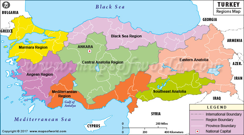 map-of-turkey-geographical-regions